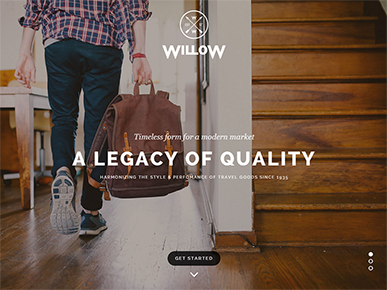 Willow - A One Page Multi Purpose Theme