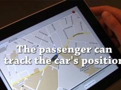 Comandare un'auto a distanza usando un iPad