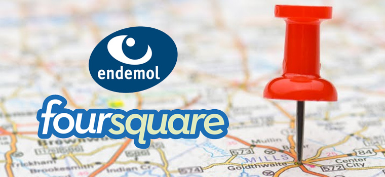 Accordo fra Endemol e Foursquare: andiamo verso una local TV?