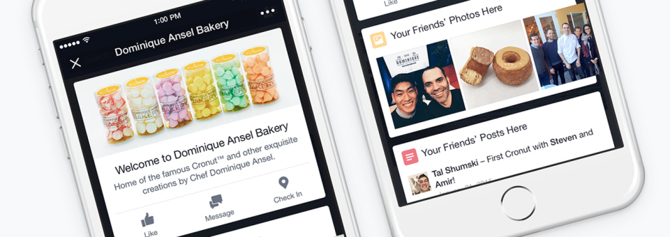 Facebook introduce i Place Tips: cosa sono e come funzionano