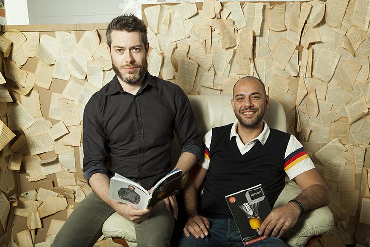 Roberto Piazza e Federico Mirarchi, i fondatori di SPAM Magazine.