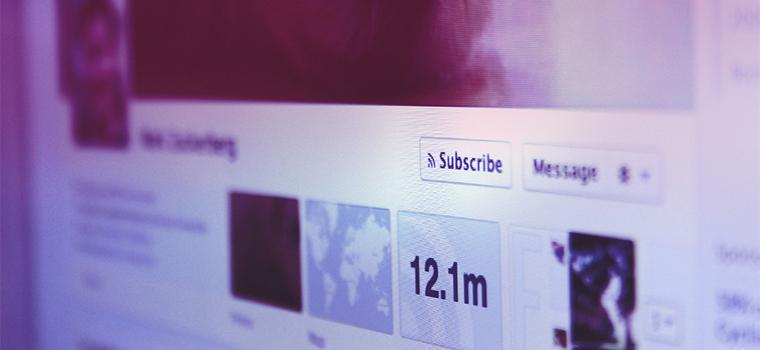 Come il pulsante 'Subscribe' cambierà Facebook