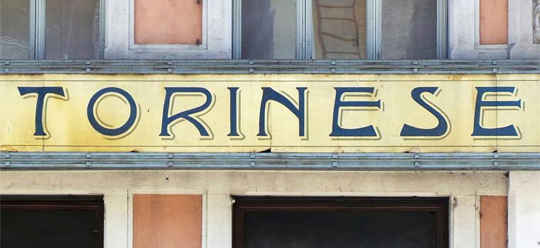 Lettering da Torino: le insegne più belle della città