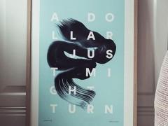 Onehundredforty: il servizio creativo che trasforma i tweets in stampe d'arte